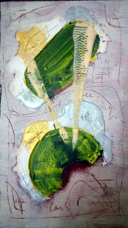Biagio Cepolalro, Icona n,81, 2018. Mista su tela, cm 30 x 20.jpg